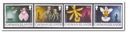 Kaaiman Eilanden 1993, Postfris MNH, Flowers, Orchids - Kaaiman Eilanden