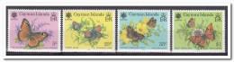 Kaaiman Eilanden 1990, Postfris MNH, Flowers, Butterflies - Kaaiman Eilanden