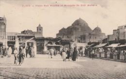 Tunis - Place Bab Souika De Sidi Mahrez   - Scan Recto-verso