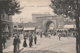Tunis - La Porte De France - Scan Recto-verso