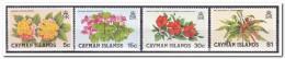 Kaaiman Eilanden 1980, Postfris MNH, Flowers - Kaimaninseln