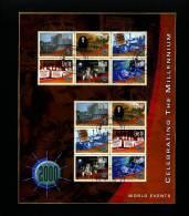 IRELAND/EIRE - 2000  WORLD EVENTS  MS  FINE USED - Blocchi & Foglietti