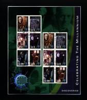 IRELAND/EIRE - 2000  DISCOVERIES  MS  FINE USED - Blocchi & Foglietti