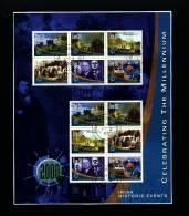 IRELAND/EIRE - 2000  IRISH HISTORIC EVENTS  MS  FINE USED - Blocchi & Foglietti