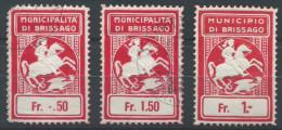 980 - BRISSAGO Fiskalmarken - Fiscaux