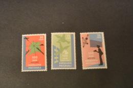 F7215- Set MNH Suriname -1973- SC. 408-410- Centenary Of Stamps - Suriname ... - 1975