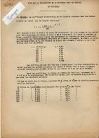 VP3564 - PARIS - 2 Notes De Mr SCHOESING Sur La Fabrication De La Nicotine Avec Des Tabacs - Documenten