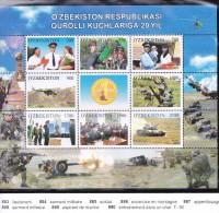 OUZBEKISTAN 2012 T.P.883 A 890 DESCRIPTIF SUR LE SCAN - Uzbekistan