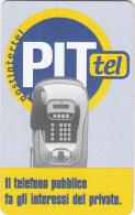 ITALY(chip) - PITtel Cardphone, Postintertel Telecard L.5000/2.58 Euro, Used - Unclassified