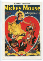 Buvard Walt Disney Valentine Day - Kids