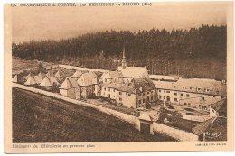 L44A_161 - La Chartreuse-de-Portes, Par Serrières-de-Briord - Bâtiment De L'Hôtellerie Au Premier Plan - Autres Communes