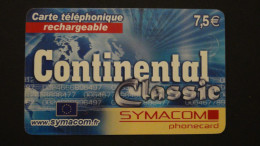 France - EUR 7,50 - Symacom - Continental Classic - N*Serie - Used - Look Scans - Frankreich