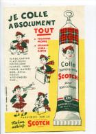 Buvard  Papeterie Colle Scotch - Papelería