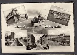 CIVITAVECCHIA VEDUTINE 2 FG NV SEE 2 SCANS - Civitavecchia