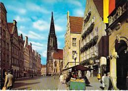 DEUTSCHLAND Allemagne - MÜNSTER : Prinzipalmarkt - CPSM GF - Germany Duitsland Alemania Germania ) - Muenster