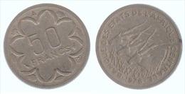 Afrique Centrale 50 Francs 1976 - Münzen