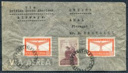 1947 Argentina Tres Isletas Airmail Cover British South American Airways BSAA -  Amal, Sweden - Poste Aérienne