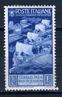 1937 - ITALIA / REGNO - ITALY - Catg. Unif. 422 - LH - (T23032016) - Nuovi