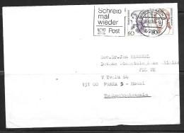 1998 Gummersbach (30.12.98) To Czechoslovakia - Storia Postale