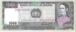 Bolivia - Pick 167 - 1000 Pesos Bolivianos 1982 - Unc - Bolivia