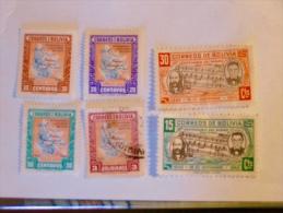 BOLIVIE - BOLIVIE  1945-6   LOT# 7 - Bolivie