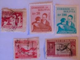 BOLIVIE - BOLIVIE  1951-5   LOT# 10 - Bolivie