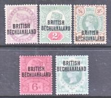 BRITISH  BECHUANALAND  33-7    **   * - Bechuanaland (...-1966)