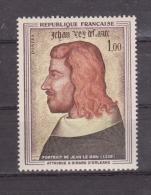 FRANCE / 1964 / Y&T N° 1413 ** : Portrait De Jean Le Bon (attribué à Girard D'Orléans) X 1 - Neufs