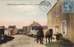 Boisville La Saint-Père - Route De Honville (Attelage) - Rare - France