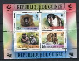 Rep. De Guinée 2000. WWF Block MNH ** - República De Guinea (1958-...)