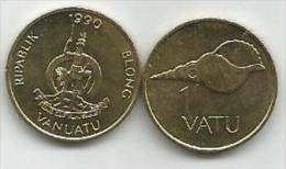 Vanuatu 1  Vatu 1990. UNC - Vanuatu