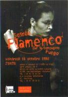 """Carte Postale édition """"Dix Et Demi Quinze"""" - Soirée Flamenco Par La Compagnie Fuego - Ville De Levallois - Dance"""