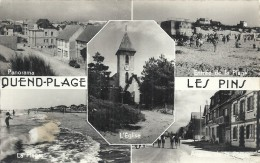 PICARDIE - 80 - SOMME - QUEND PLAGE -CPSM PF NB - Multivues - Quend