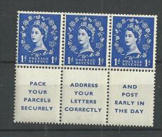 1955 MH GB, Watermark E2R Edward Crown - Unused Stamps