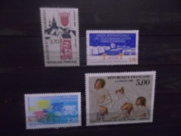FRANCE - Année 1989 - N° 2588 à 2591 Neuf ** - Nuovi