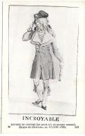 HISTOIRE DU COSTUME - 36 - Epoque Du Directoire - Historia