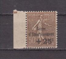 FRANCE / 1930 / Y&T N° 267 ** : 4ème Caisse D´Amortissement 50c +25c - Gomme D'origine Intacte - France