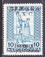 Bosnia And Herzegovina  1 L B 1   * - Bosnia And Herzegovina
