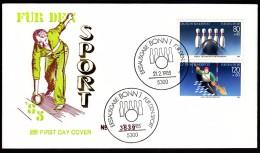 Germany Bonn 1985 For Sport Bowling