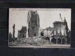 F01 - Guerre 1914-18 - 62 - Arras - Ce Qui Restait De L'Hotel De Ville Et Du Beffroi ... - Guerre 1914-18