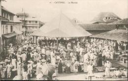 CPA - Cayenne -  Le Marché / Très Belle Animation - Cayenne