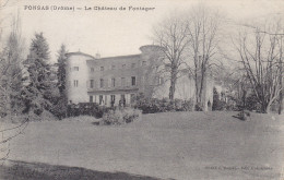 Ph-CPA Ponsas (Drôme) Le Château De Fontager - Frankreich
