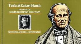 Turks & Caicos-Inseln 1979 Sir Rowland Hill Michel N° 442-454 Im Markenheftchen MNH - Turks E Caicos