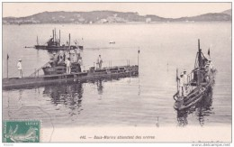 16-252 Sous Marins Attendant Des Ordres - Sottomarini
