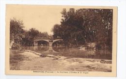 CPA 84 - BEDARRIDES - Le Confluent , L'Ouvèze Et La Sorgue - TB PLAN Des Cours D'eau Et Du PONT - Bedarrides