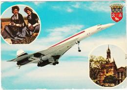 Toulouse: CONCORDE - Capitale Aerospatiale - (France)
