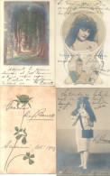 RAFAEL BARRETT ESTABA FESTEJANDO A HONORINA PETTIROSSI EN ASUNCION DEL PARAGUAY 1904-1906 RARISIMAS PIEZAS - Historical Documents