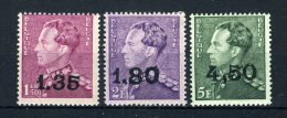 724X/724Z MNH** 1946 - Leopold III Type Poortman - 1946 -10%