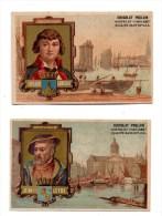 Chocolat Poulain.Navigateurs. Surcouf.Rochefort.Jean De Leyde.Amsterdam. - Poulain