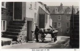 Postcard - St. Ives Back Road East, Cornwall. X.I - St.Ives